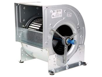 Ventilateurs centrifuges<br> basse pression arbre nu
