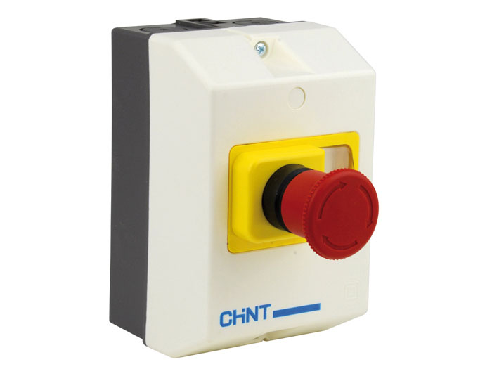 Coffret avec bouton pour disjoncteur type ns8 25 ip 65 - Disjoncteur magneto thermique ...