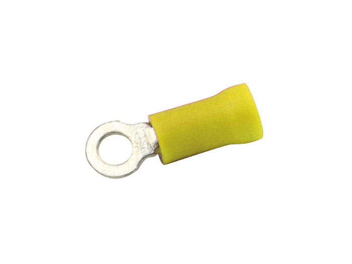 cosse ronde perc e 6mm jaune