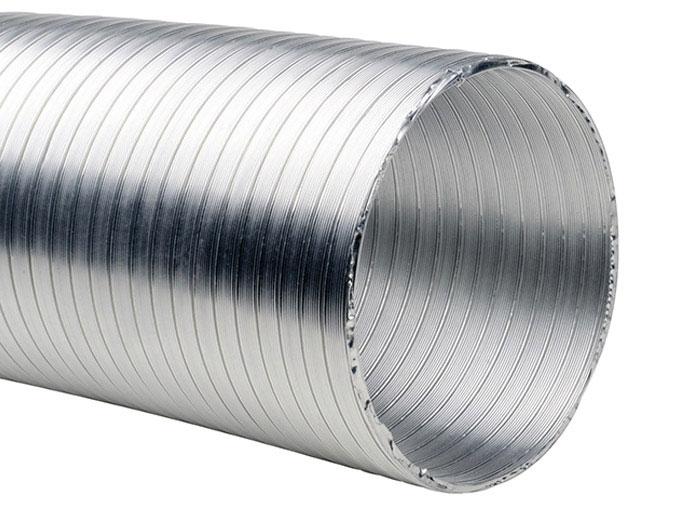 Gaine De Ventilation Aluminium 100 Longueur 6m