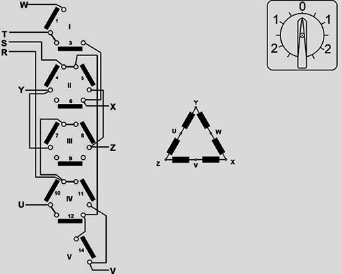 inverseur de rotation pour moteur 2 vitesses dalhander
