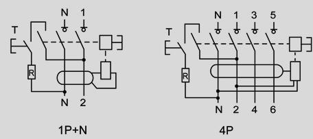 Interrupteur diff rentiel 4 p les calibre 40a - Differentiel type a ou ac ...